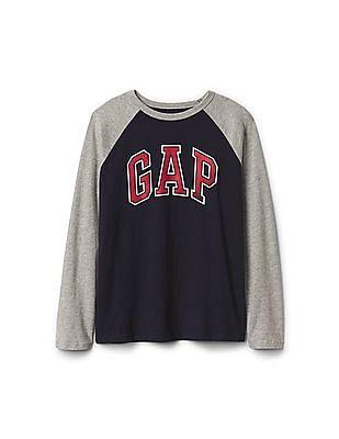 GAP Boys Logo Baseball Tee