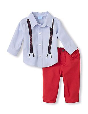 The Children's Place Baby Shirt And Pant Set