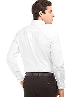 Arrow Jacquard Regular Fit Shirt