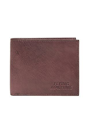 Flying Machine Bi-Fold Leather Wallet