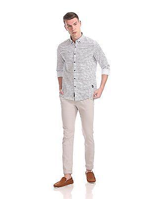 U.S. Polo Assn. Denim Co. Button Down Printed Shirt