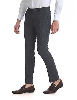 Arrow Newyork Super Slim Fit Heathered Trousers