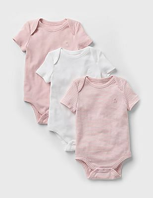 GAP Favorite Embroidered Bodysuit - Pack Of 3