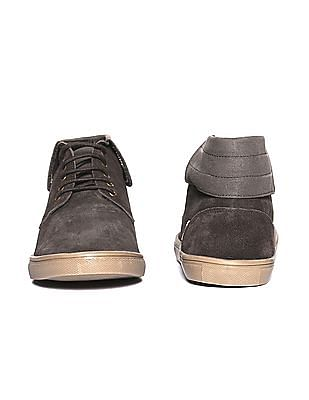 U.S. Polo Assn. Panelled Suede Derby Shoes