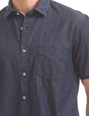 Ruggers Regular Fit Chambray Shirt