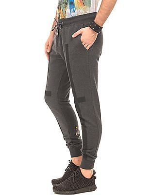 Ed Hardy Regular Fit Heathered Joggers