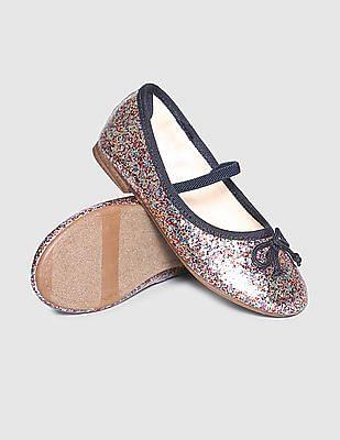GAP Baby Sequin Embellished Ballerina Shoes