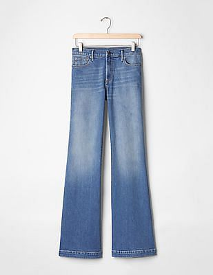 GAP Women Blue Authentic 1969 Flare Jeans