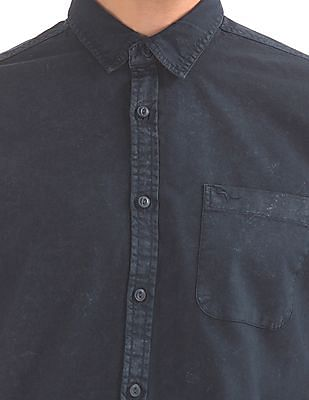 Flying Machine Slim Fit Washed Shirt