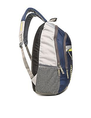 Flying Machine Colour Block Padded Backpack