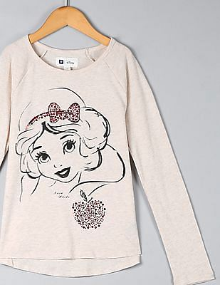 GAP Girls Disney Embellished Graphic Tee