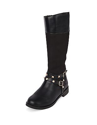 The Children's Place Baby Girl Tall Studded Boots