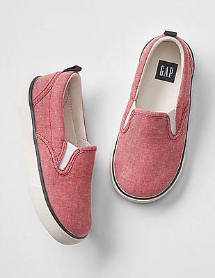GAP Baby Oxford Slip On Sneakers