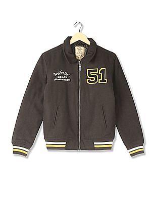 Arrow Sports Regular Fit Spread Collar Jacket