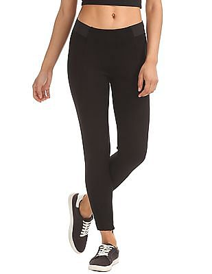 Elle Studio Panelled Stretch Treggings