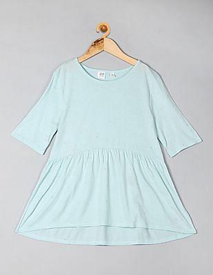 GAP Girls Peplum T-Shirt