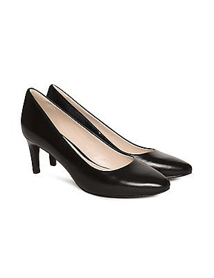 Cole Haan Point Toe Leather Pumps