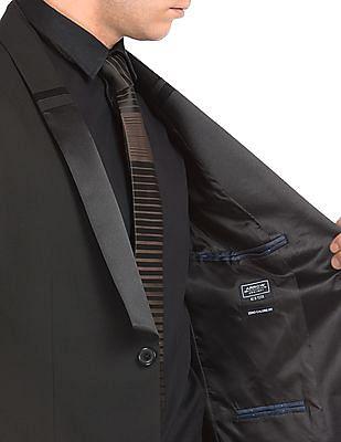 Arrow Newyork Patterned Shawl Collar Suit