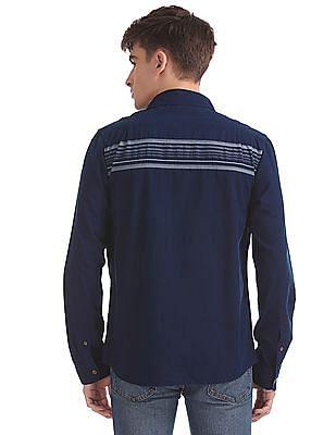Aeropostale Regular Fit Stripe Shirt