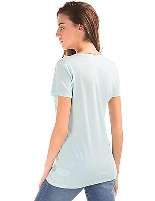 GAP Logo Print Cotton T-Shirt