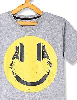 Cherokee Boys Printed Short Sleeve T-Shirt