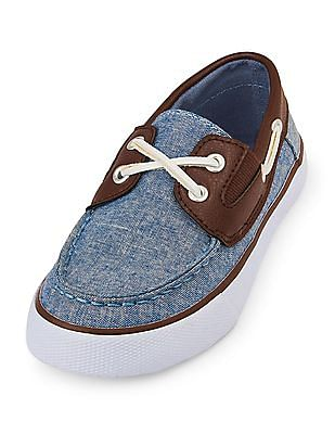 The Children's Place Boys Slip-On Boat Shoe