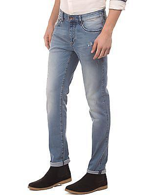 Flying Machine Stone Wash Slim Fit Jeans