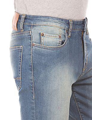 Aeropostale Super Skinny Fit Washed Jeans