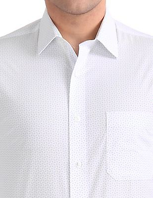 Arrow Regular Fit Printed Shirt