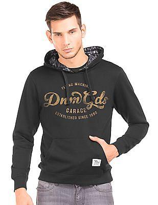 488fec6b317d2 Buy Men Hooded Printed Sweatshirt online at NNNOW.com