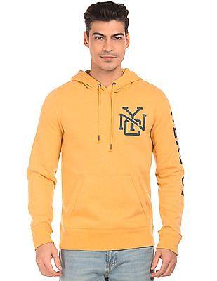 Aeropostale Brand Print Hooded Sweatshirt
