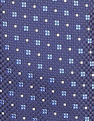 Arrow Geometric Jacquard Tie
