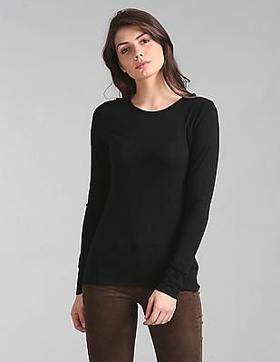 GAP Feather Weight Long Sleeve Crew Neck T-Shirt