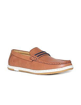 U.S. Polo Assn. Contrast Trim Deck Shoes
