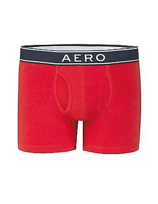 Aeropostale Solid Panelled Trunks