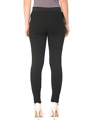 Cherokee Solid Panelled Treggings