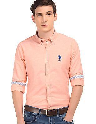 U.S. Polo Assn. Solid Oxford Shirt