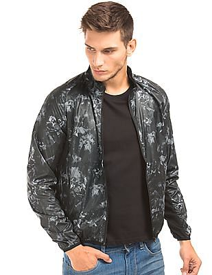 Flying Machine Printed Slim Fit Jacket