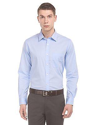 Elitus Regular Fit Wrinkle Free Shirt