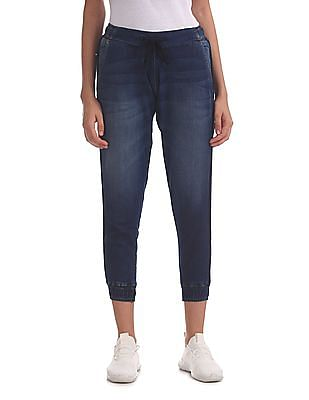 U.S. Polo Assn. Women Dark Wash Jogger Jeans