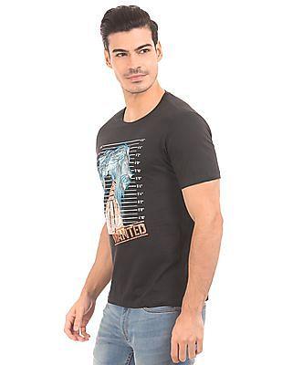 Colt Printed Front Regular Fit T-Shirt