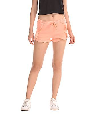 Aeropostale Dolphin Solid Shorts