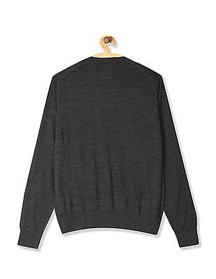 Arrow Sports V-Neck Merino Wool Sweater