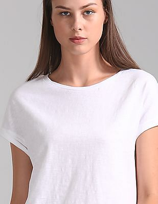 GAP Short Sleeve Slub T-Shirt