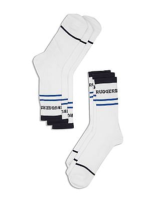 Ruggers Crew Length Socks - Pack of 3