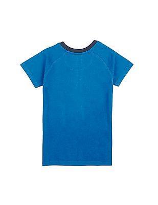 Cherokee Boys Graphic Print Raglan Sleeve T-Shirt