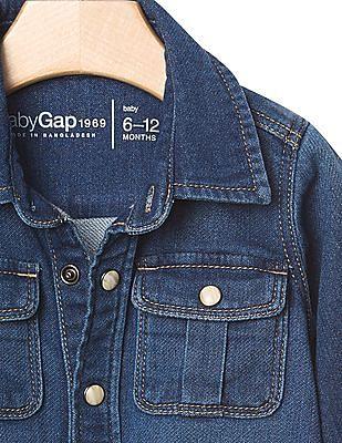 GAP Baby 1969 Super Soft Denim Shirt