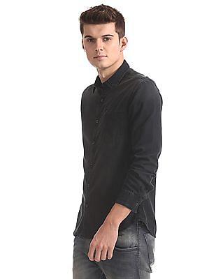 Ed Hardy Slim Fit Dyed Shirt