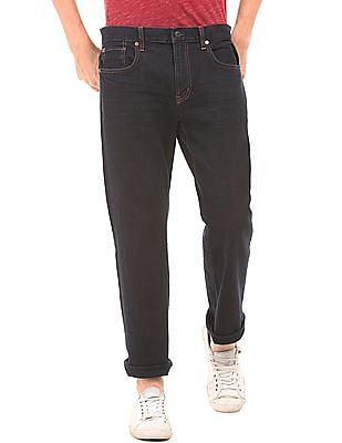 Aeropostale Dark Wash Straight Fit Jeans