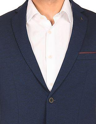 Arrow Newyork Patterned Knit English Blazer
